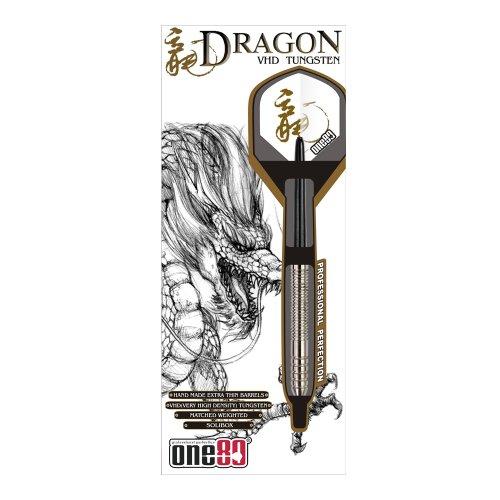 ONE80 Soft-Dartpfeile Dragon Softip 20g, silber, 6043