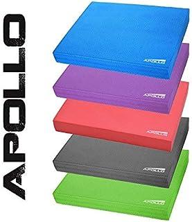 APOLLO Balance Pad koordineringsmatta 24 x 38 x 6 cm, för fitness, yoga och pilates