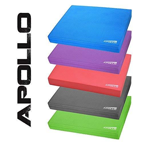 Apollo Coussin de Balance de la Marque, Tapis de Coordination 24x38x6cm, pour Le Fitness, Le Yoga et Le Pilates en Vert