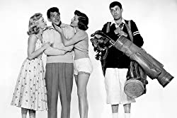 Dean Martin and Jerry Lewis in The Caddy - Dean gets the girls, Jerry gets the clubs