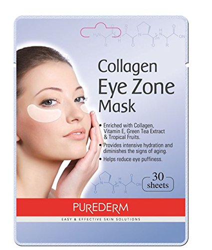 Deluxe Collagen Eye Mask Collagen Pads For Women By Purederm...