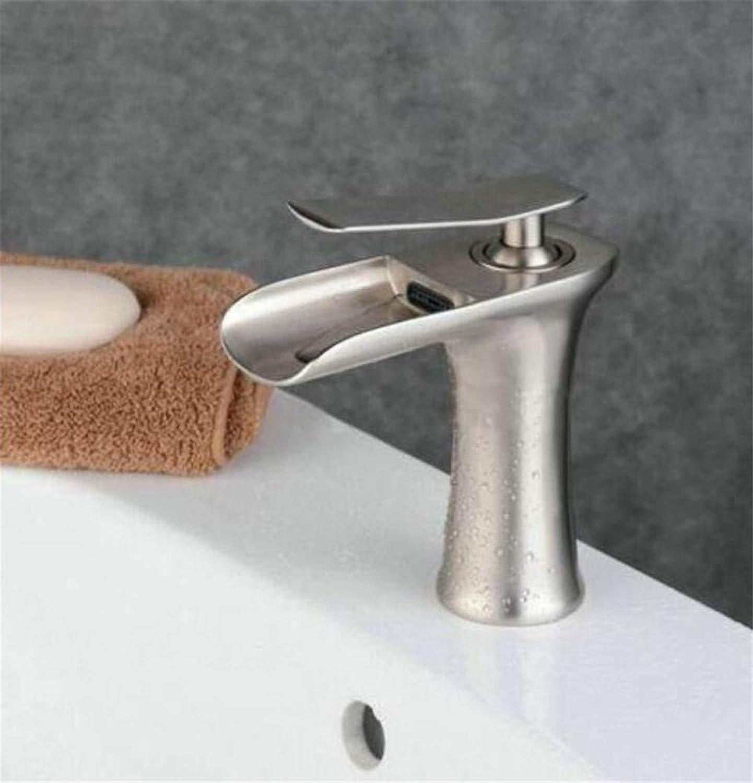 360° redating Faucet Retro Faucet Basin Faucets Waterfall Bathroom Faucet Single Handle Basin Mixer Tap Bath White and Chrome Faucet