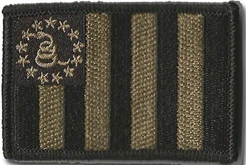 Sons Of Liberty/Gadsden Tactical Patch - Coyote