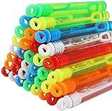 JOYIN 72 Mini Bubble Maker Wands; Circle & Heart Shapes for Kids Photo Prop Decorations, Super Value Pack of...