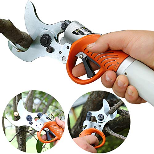 YM 45mm oplaadbare draadloze pruning schaar elektrische separator boom AST schaar snoeischaar voor zwakke handen boom plant heggen snoeigereedschap