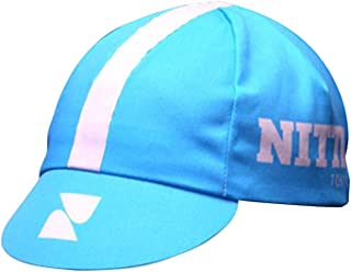 Nitto Cycling Cap, Blue/White