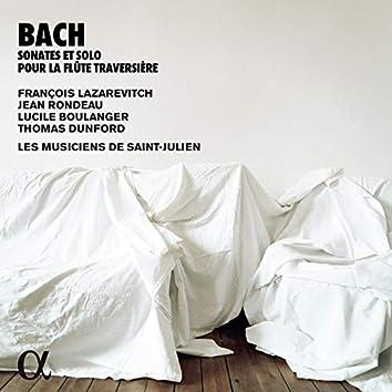 Bach: Sonates & solo pour la flûte traversière (Alpha Collection)