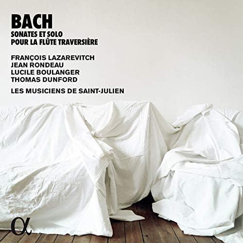François Lazarevitch, Jean Rondeau, Lucile Boulanger, Thomas Dunford & Les Musiciens de Saint-Julien