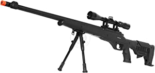 wellfire mb11d full metal bolt action sniper rifle w/ scope and bipod(Airsoft Gun)
