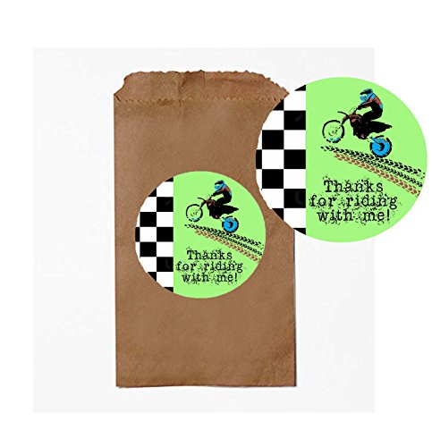 Dirt Bike Motorcycle Themed Party Pack Supply Decor (Party Favor)
