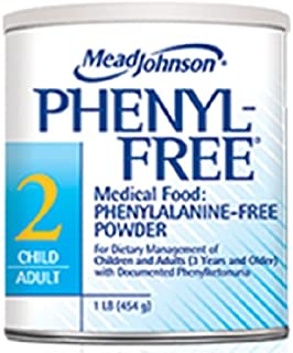 Mead Johnson Phenyl-Free 2 Can 1Lb For Children And Adults With Pku - Case of 6 - Model 008001