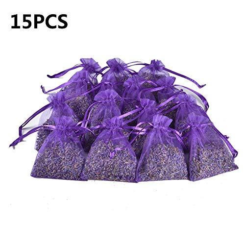 15 X Lavendelsäckchen Duftsäckchen 8g Lavendel Säckchen Zum Mottenschutz Gegen Motten Im Kleiderschrank Oder Entspannen Und Schlafen