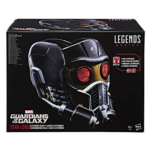 Avengers Guardians of The Galaxy Marvel Legends Series E-Helm, Star Lord Helm