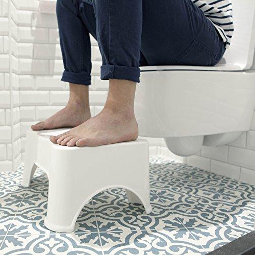 ToiletSquat Toilettenhocker | Medizinische Toilettenhilfe Tritthocker | bessere Sitzhaltung auf der...