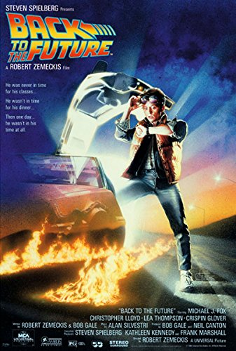 Back To The Future - Movie Poster (Regular Style) (Size: 24' x 36')