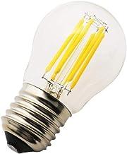 1 stuk G45 E27 Mini Globe LED gloeilamp warm wit 2700K, 6W = 50W, niet dimbaar, 360 graden stralingshoek, LED Edison schro...