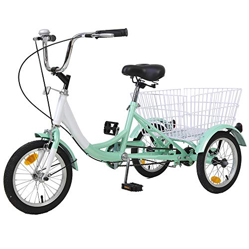 4. H&ZT 7 Speed Tricycle (Cheap 3 Wheel cycles For Old People)