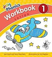 Jolly Phonics Workbook 1: in Precursive Letters (British English edition) (Jolly Phonics: Workbook)