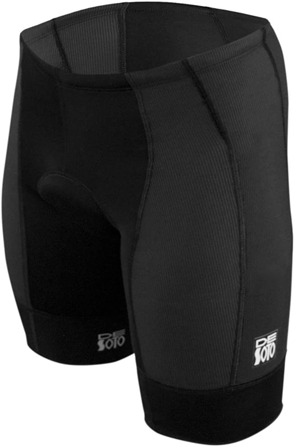 De Soto Forza Tri Short  FTS3 (No Pockets) 2018 (Black XXLarge)