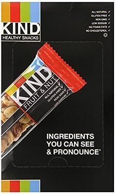 KIND Fruit & Nut, All Natural / Non GMO, Gluten Free Bars