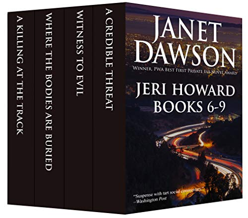 The Jeri Howard Anthology: Books 6-9 (The Jeri Howard Series)