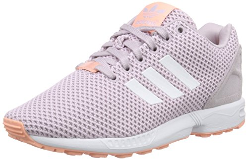 adidas Damen ZX Flux Sneaker, Pink (Mauve F15-St/Ftwr White/Glow Coral S14), 36 2/3 EU