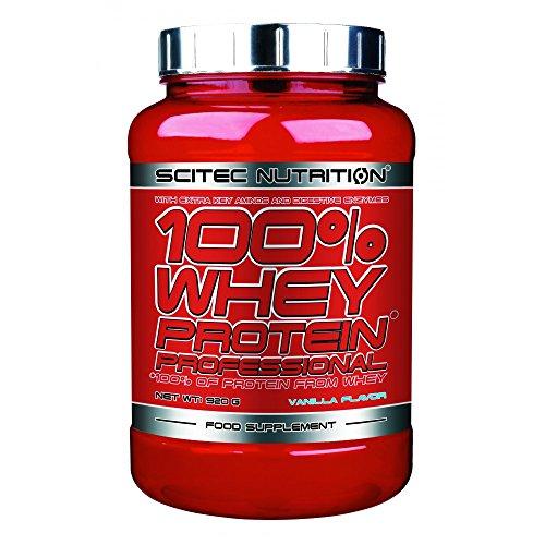 Scitec Nutrition 100{e5f3260c2b693d29daa19e6b0dd9954343be18416ab26298abf24a6056e80e16} Whey Protein Professional 920g Kokosnuss