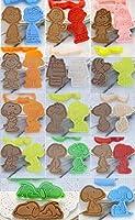 forスヌーピークッキー型 キュートなルックス 親子DIYビスケットとフルーツ作り頭製菓用品 プレスタイプ キッチン お弁当 手作り 14個