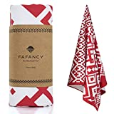 FAFANCY Microfiber Beach Towel - Large XL Quick Dry Lightweight Compact Sand Proof Absorbent 63