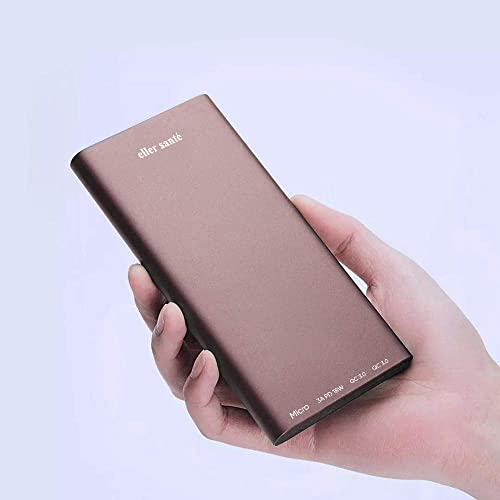 Eller Sant Magnus Two Way Quick Charging Power Bank 10000Mah 18W QC3 0 USB C Type C PD Dual Input Output Qualcomm Certified And BIS Certified Make In India Rose Gold