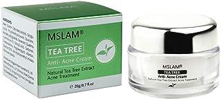 Tea Tree Face Cream, Acne Treatment Cream, Anti Pimple Cream, Acne Remover Cream, Balance Water And Oil, Fighting Breakouts, Cystic Acne,Natural & Organic Facial Moisturizer