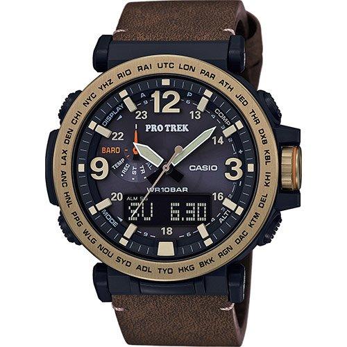 Reloj de Hombre Casio PRG-600YL-5ER de Piel marrón