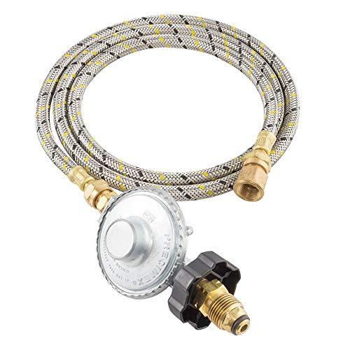Conexión Regulador Gas L.P, manguera de 1.5 m Mod.3100