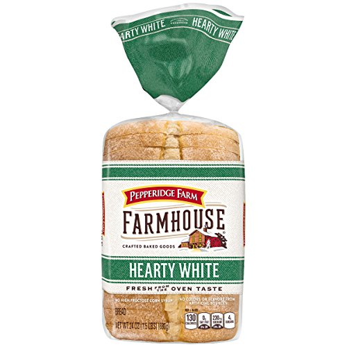 Pepperidge Farm Farmhouse Hearty White Bread, 24 Ounce Bag