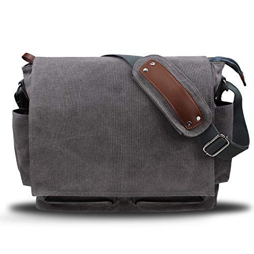 Herrentasche Umhängetasche Handtasche Schultertasche Messenger College Bag Leder