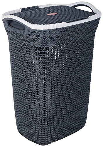Nayasa Rope Laundry Basket - Multipurpose Basket - Plastic...