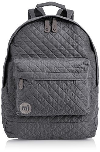 Mi-Pac Premium, Mochila Tipo Casual, 41 cm, 17 litros, Quilted Grey