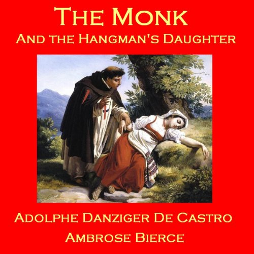 The Monk and the Hangman's Daughter audiobook cover art