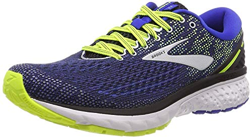 Brooks Men's Ghost 11 Running Shoes, Black (Black/Blue/Nightlife 069), 7 UK