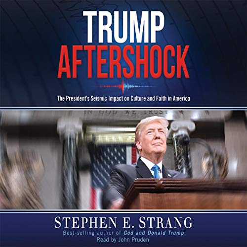 Trump Aftershock audiobook cover art