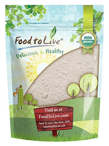 Farine d'Orge Bio, 4 Livres - moulue sur pierre d'orge à grains entiers, sans OGM, brute, végétalienne, en vrac, idéale pour la cuisson au four, produit des États-Unis