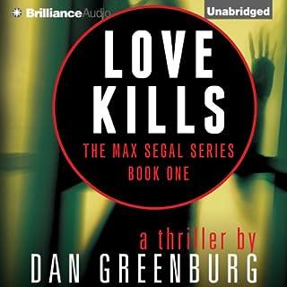 Love Kills audiobook cover art
