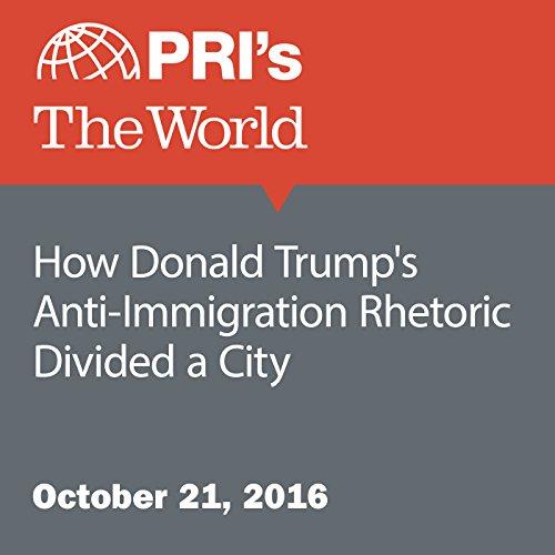 How Donald Trump's Anti-Immigration Rhetoric Divided a City audiobook cover art