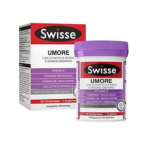 Swisse Integratore Alimentare Umore, Multicolore, 50 Compresse