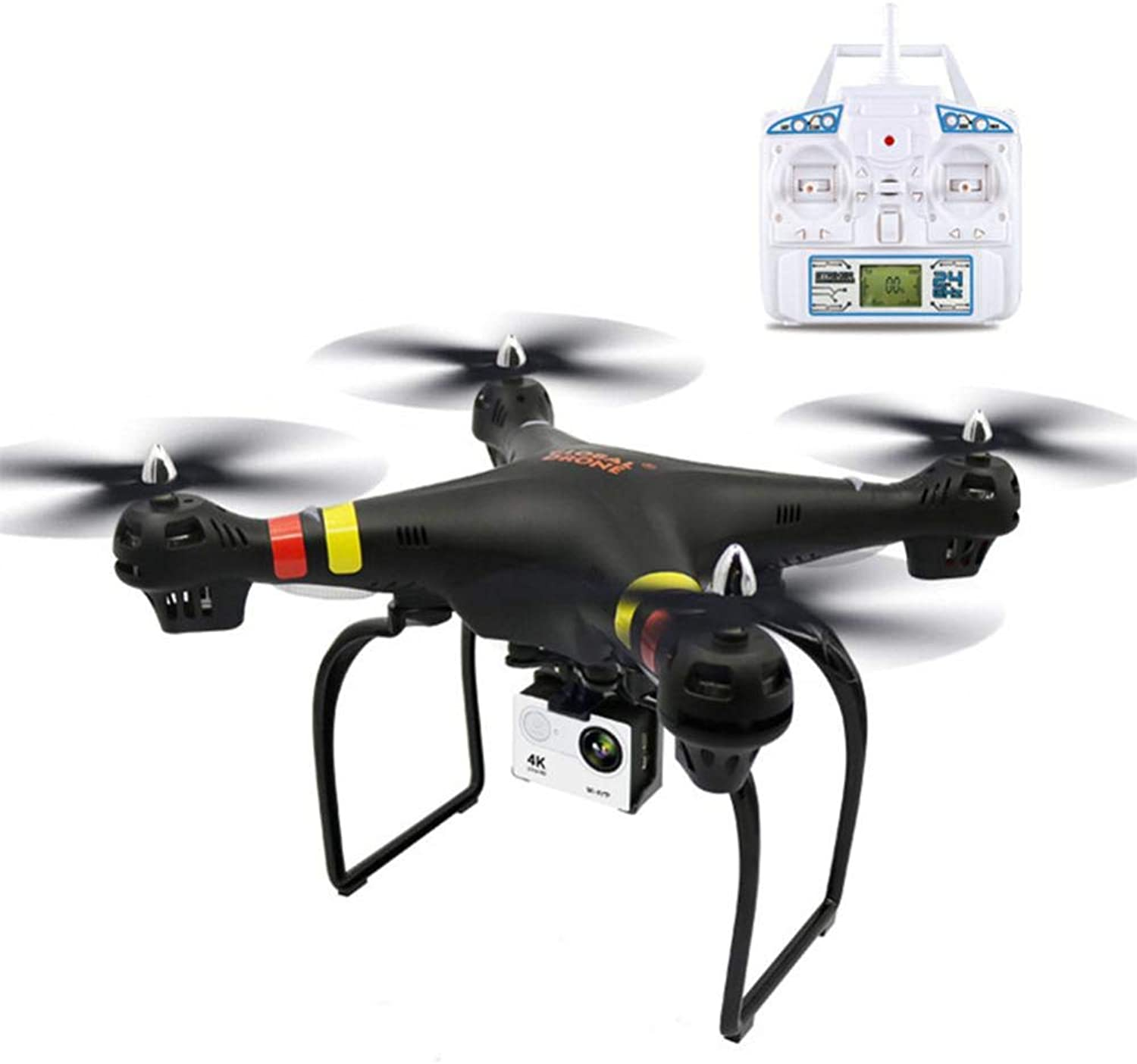 Drone with 4K HD Camera Live Video and GPS Return Home, RC Quadcopter for Adults Beginners with Brushless Motor, Follow Me, 2.4G WiFi Transmission