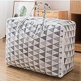 N / C Bolsa de almacenamiento para el hogar, colcha de Navidad, hogar, artefacto, algodón, lino, decoración, 50 x 35 x 20 cm