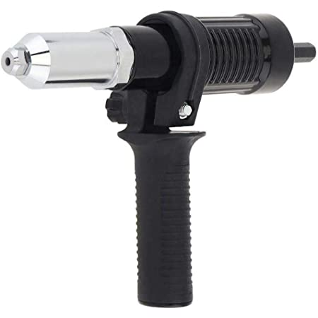 Professional Electric Aluminum Rivet Nut Gun Adaptor Insert Cordless Power Drill