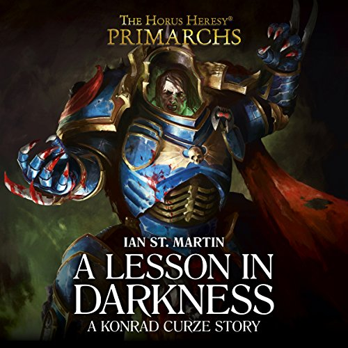 A Lesson in Darkness audiobook cover art