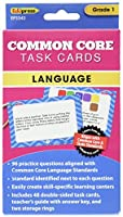 [Edupress]Edupress Common Core Language Task Cards, Grade 1 EP-3342 [並行輸入品]