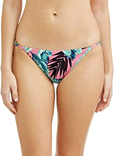 Juniors' Havana Nights Tropical Print Scoop Swimsuit Bottom (Small 3-5)